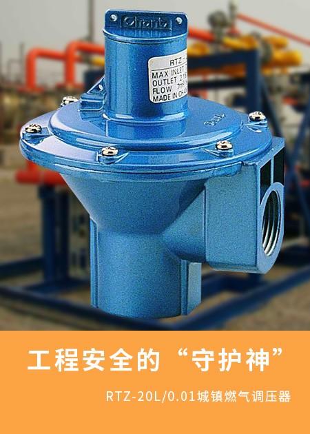 RTZ-20L/0.01城镇燃气调压器